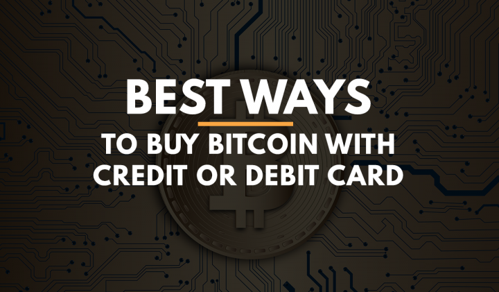 Ways to buy bitcoin with Credit Card
